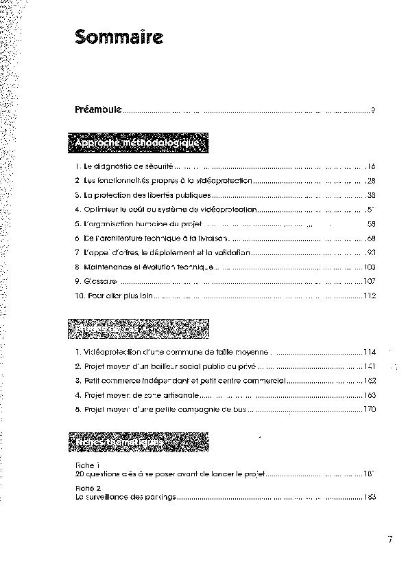 Guide Methodologique De Videoprotection L Union Sociale Pour L Habitat