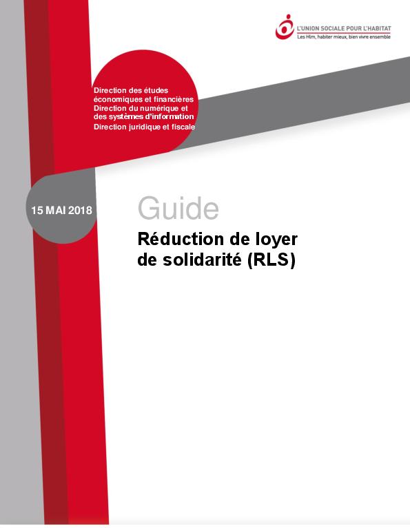 Guide Reduction De Loyer De Solidarite Rls L Union Sociale Pour