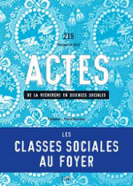 Les classes sociales au foyer - Revue Actes n° 215