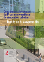 Contribution à l'évaluation du Programme national de rénovation urbaine