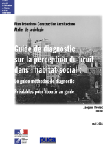 Guide de diagnostic sur la perception du bruit dans l'habitat social