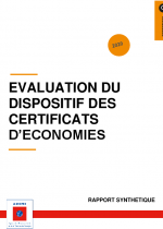 Evaluation du dispositif des Certificats d'Economie d'Energie - ADEME