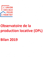 Observatoire de la Production Locative (OPL) : bilan 2019