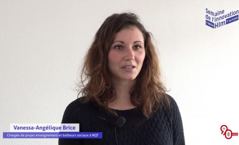 « 90 ans d'architecture humaine… Un concept qui nous correspond », interview de Vanessa-Angélique Brice, association NQT